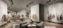Kantoor- & winkelruimten door Rossi Lighting Design