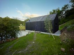 Casas modernas por Backraum Architektur