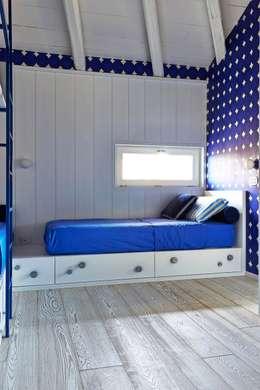 Architetto Alboini Maria Gabriella의  침실