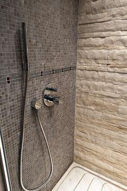 eclectic Bathroom by Arte Pietra