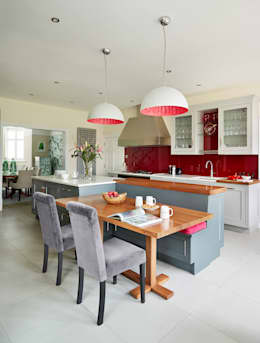 Küchenblock mit sitzbank  Faszinierende Ideen für offene Küchen