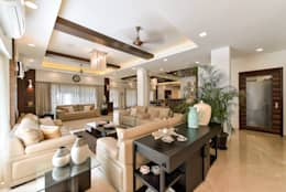 minimalistic Living room by ARK Reza Kabul Architects Pvt. Ltd.