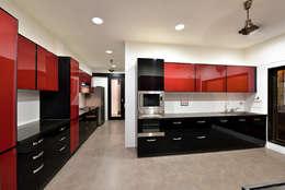 minimalistic Kitchen by ARK Reza Kabul Architects Pvt. Ltd.