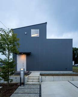 moderne Huizen door 萩原健治建築研究所