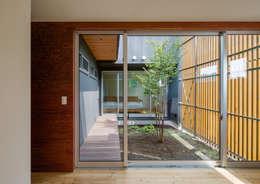 moderne Tuin door 萩原健治建築研究所