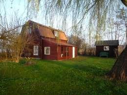 Het huis vóór de vernieuwbouw.:   door Architectenbureau Rutten van der Weijden
