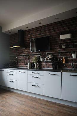 Projekty,  Kuchnia zaprojektowane przez Designer Olga Aysina
