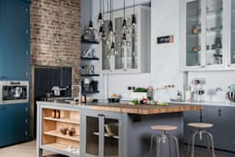 W9  |  Eclectic Industrialism : industrial Kitchen by Davonport