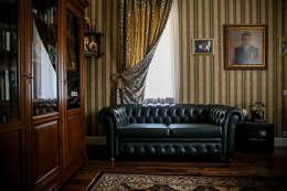klasieke Studeerkamer/kantoor door Designer Olga Aysina