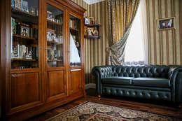 Дворянский особняк: Рабочие кабинеты в . Автор – Designer Olga Aysina