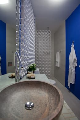 Baños de estilo moderno por Anna de Matos - Designer de Ambientes e Paisagismo