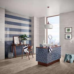 modern Bathroom by Love Tiles