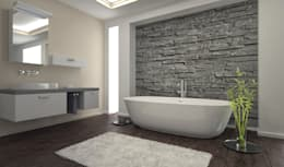 modern Bathroom by PietraNova srl