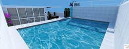 tropical Pool by Rangel & Bonicelli Design de Interiores Bioenergético