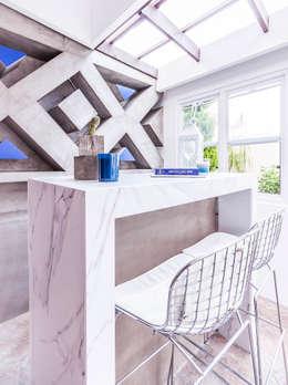 Projekty, eklektyczne Domy zaprojektowane przez SZTUKA  Laboratorio Creativo de Arquitectura