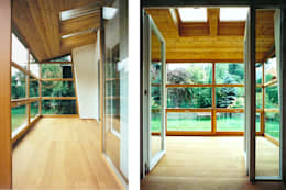 modern Conservatory by dietrich + lang architekten