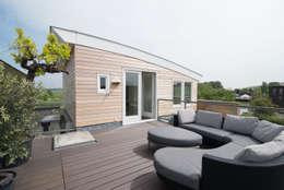 dakterras en opbouw:  Terras door Egbert Duijn architect+