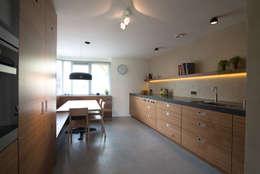 keuken: moderne Keuken door Egbert Duijn architect+