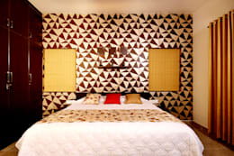 Residence at Kerala : eclectic Bedroom by Sanskriti Architects