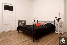 Studio Eksarev & Nagornaya의  침실