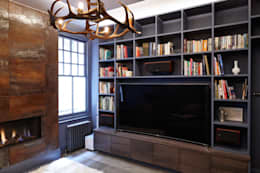 modern Living room by Rousseau