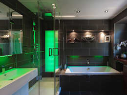 Projekty,  Łazienka zaprojektowane przez Rousseau