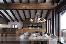 modern Dining room by Go Interiors GmbH