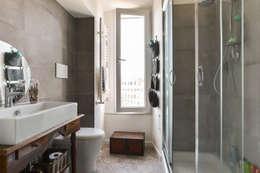 02A Studio: klasik tarz tarz Banyo