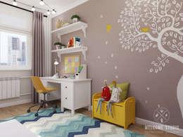 Мастерская дизайна Welcome Studio: iskandinav tarz tarz Çocuk Odası
