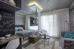 Dormitorios de estilo  por SESSO & DALANEZI