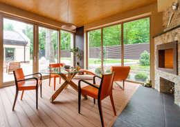 Asiya Orlova Interior Design:  tarz Teras