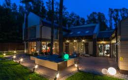 Геометрия комфорта (Дом в г.Светлогорск, Калининградская область): Дома в . Автор – Asiya Orlova Interior Design