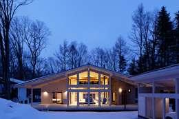 軽井沢K邸: 株式会社山崎屋木工製作所 Curationer事業部が手掛けた家です。