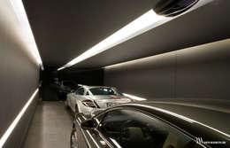 minimalistic Garage/shed by Bartek Włodarczyk Architekt