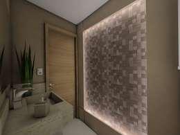 حمام تنفيذ Ricardo Cavichioni Arquitetura