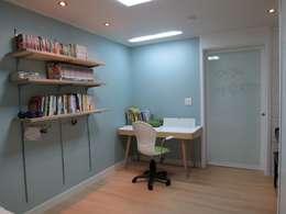 홍예디자인: modern tarz Çocuk Odası