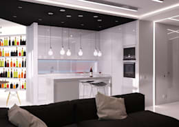 Cocinas de estilo minimalista por QUADRUM STUDIO