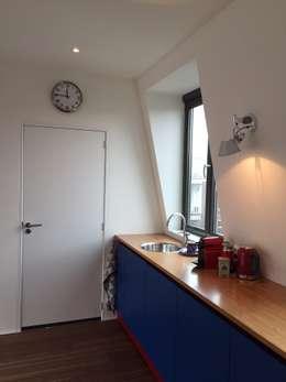 moderne Studeerkamer/kantoor door homify