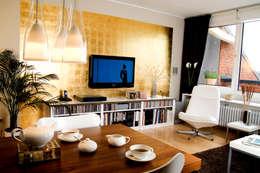 Wohnzimmer gestalten braune möbel  Das Wohnzimmer in Braun gestalten und zeitlos im Trend bleiben