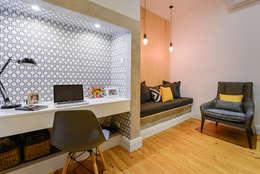 Oficinas de estilo moderno por LAVRADIO DESIGN