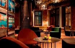 Katizi Mimarlık – W HOTEL İSTANBUL LOUNGE, RESTAURANT ve MİNYON CAFE DÜZENLEME PROJESİ:  tarz Bar & kulüpler