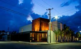 Residencia 41BJ : Casas de estilo moderno por r79