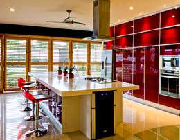 Residencia 41BJ : Cocinas de estilo moderno por r79
