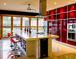 Cocinas de estilo moderno por r79