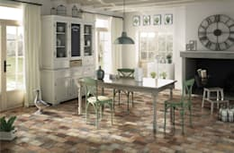 Gres London, colore multicolor: Pareti & Pavimenti in stile in stile Industriale di Ceramica Rondine