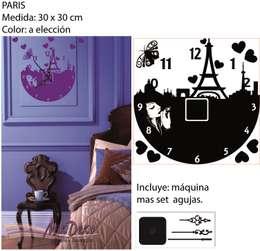 PARIS: Dormitorios de estilo moderno por MikDeko