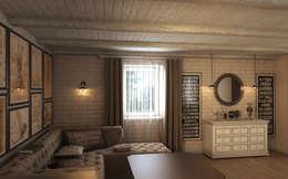 Salas / recibidores de estilo colonial por Art Style Design