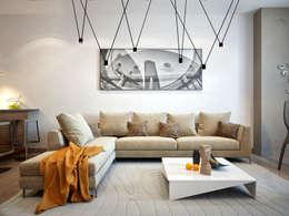 ausgefallenes design veredelt das wohnzimmer - Fantastisch Modernes Wohnzimmer Am Abend