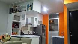Cozinhas modernas por FLO Arte y Diseño