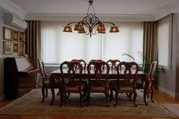 Bozantı Mimarlık – Erenköy'de Ev: modern tarz Yemek Odası